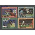 Ghana 1983 Mi 968-971 Czyste **