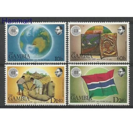 Znaczek Gambia 1983 Mi 457-460 Czyste **