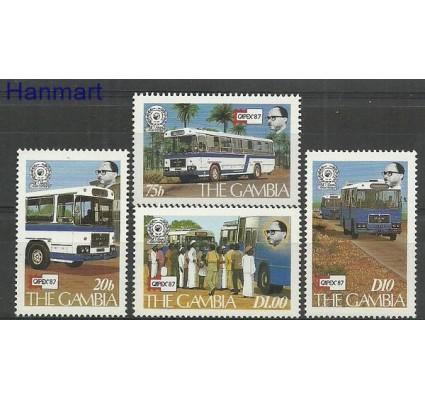 Znaczek Gambia 1987 Mi 701-704 Czyste **