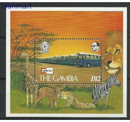 Znaczek Gambia 1987 Mi bl37 Czyste **