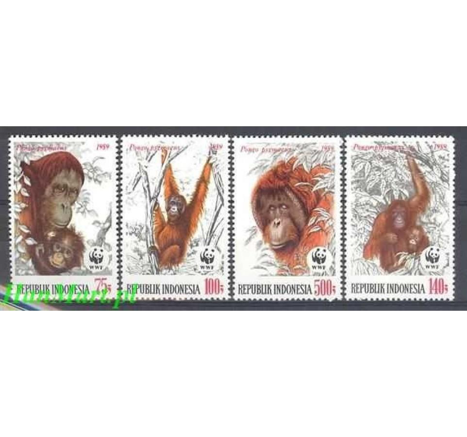 Indonezja 1989 Mi 1291-1294 Czyste **