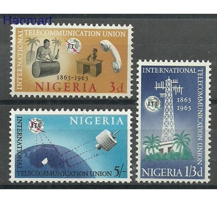 Znaczek Nigeria 1965 Mi 166-168 Czyste **
