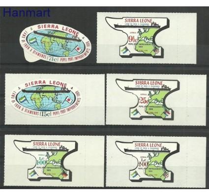 Znaczek Sierra Leone 1969 Mi 455-460 Czyste **