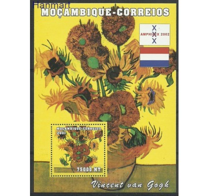 Mozambik 2001 Mi bl105 Czyste **