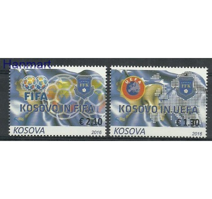 Znaczek Kosowo 2016 Mi 351-352 Czyste **