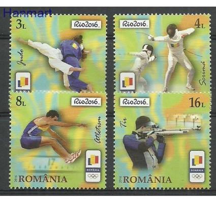 Znaczek Rumunia 2016 Mi 7099-7102 Czyste **