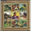 Mozambik 2001 Mi ark2034-2042 Czyste **