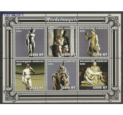 Znaczek Mozambik 2001 Mi ark2115-2120 Czyste **