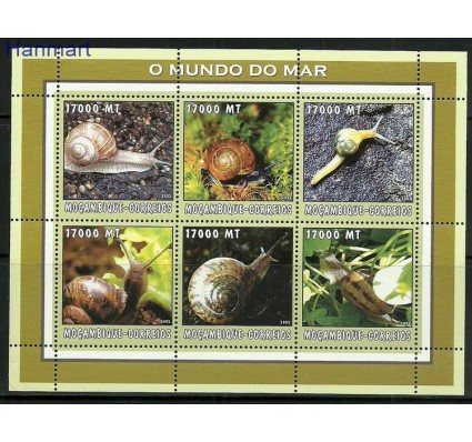 Mozambik 2002 Mi ark2596-2601 Czyste **