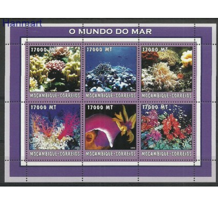 Znaczek Mozambik 2002 Mi ark2614-2619 Czyste **