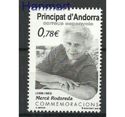 Znaczek Andora Hiszpańska 2009 Mi 359 Czyste **