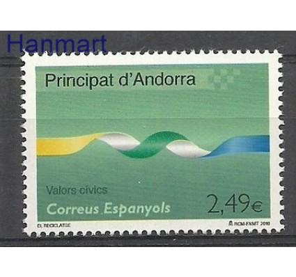 Znaczek Andora Hiszpańska 2010 Mi 373 Czyste **