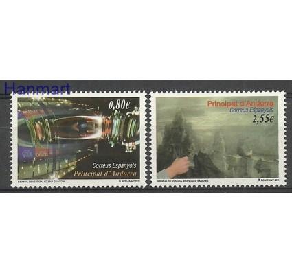 Znaczek Andora Hiszpańska 2011 Mi 382-383 Czyste **