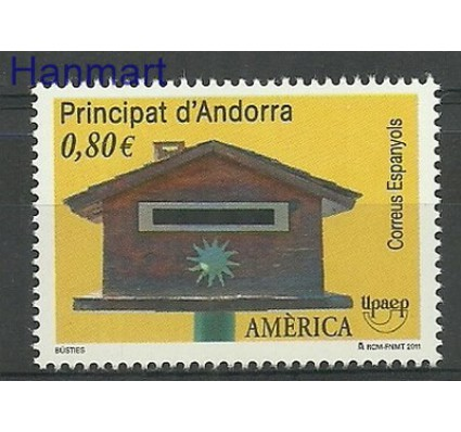 Znaczek Andora Hiszpańska 2011 Mi 385 Czyste **