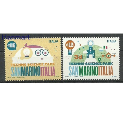 Włochy 2015 Mi 3854-3855 Czyste **