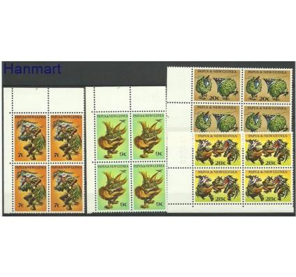 Papua Nowa Gwinea 1971 Mi 211-214 Czyste **