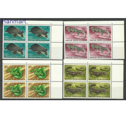 Papua Nowa Gwinea 1972 Mi 219-222 Czyste **