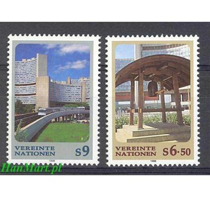 Narody Zjednoczone Wiedeń 1998 Mi 246-247 Czyste **