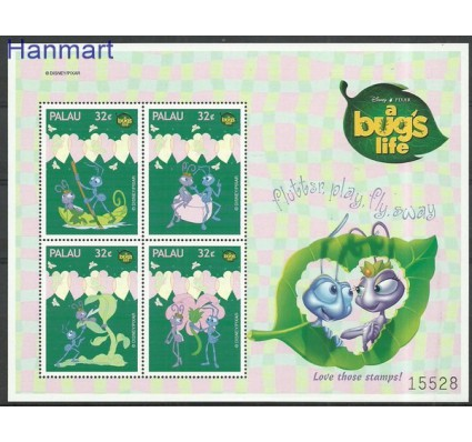 Znaczek Palau 1998 Mi ark1387-1390 Czyste **