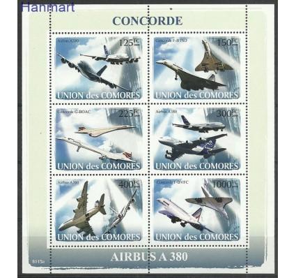 Komory 2008 Mi ark1925-1930 Czyste **