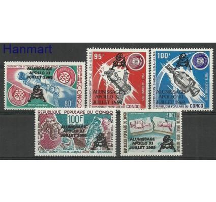 Kongo 1979 Mi 702-706 Czyste **