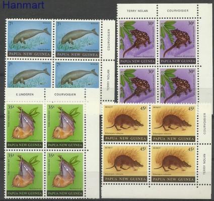 Papua Nowa Gwinea 1980 Mi 398-401 Czyste **