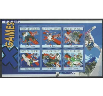 Komory 2010 Mi ark2754-2759 Czyste **