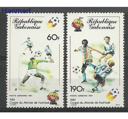Gabon 1981 Mi 761-762 Czyste **