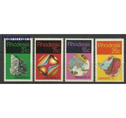 Znaczek Rodezja 1971 Mi 114-117 Czyste **