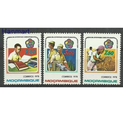 Znaczek Mozambik 1978 Mi 666-668 Czyste **