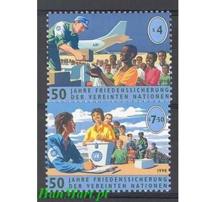 Narody Zjednoczone Wiedeń 1998 Mi 266-267 Czyste **