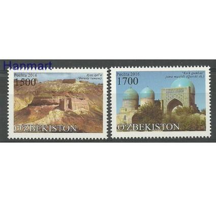 Znaczek Uzbekistan 2016 Mi 1142-1143 Czyste **
