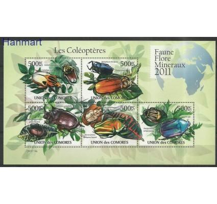 Komory 2011 Mi ark2965-2969 Czyste **