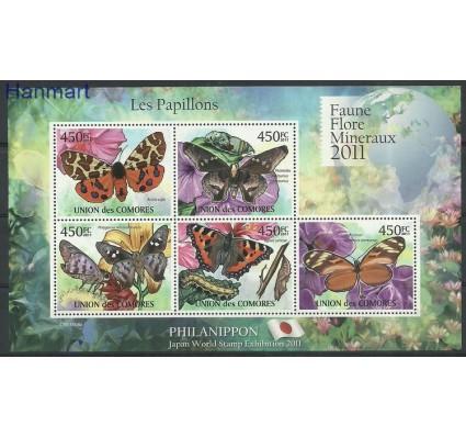 Komory 2011 Mi ark2976-2980 Czyste **