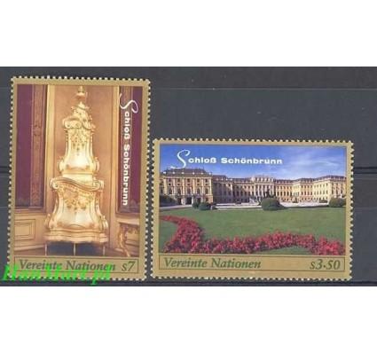 Narody Zjednoczone Wiedeń 1998 Mi 270-271 Czyste **