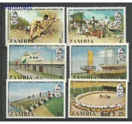 Znaczek Zambia 1974 Mi 123-128 Czyste **
