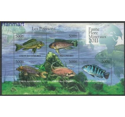 Komory 2011 Mi ark3001-3005 Czyste **