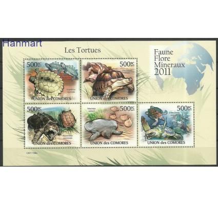 Znaczek Komory 2011 Mi ark3007-3011 Czyste **