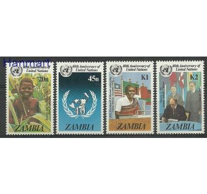 Znaczek Zambia 1985 Mi 345-348 Czyste **