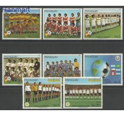 Znaczek Paragwaj 1982 Mi 3528-3333+3535+3537 Czyste **
