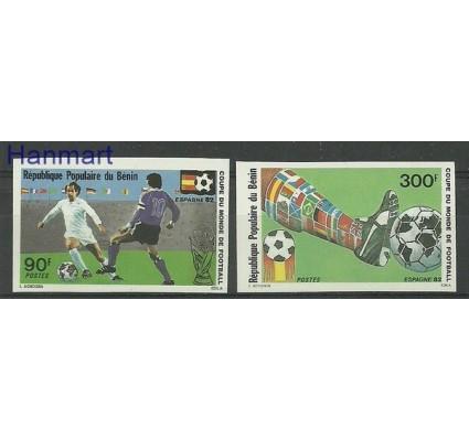 Benin 1982 Mi 283-284B Czyste **