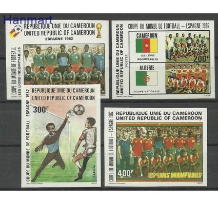 Znaczek Kamerun 1982 Mi 979-982B Czyste **