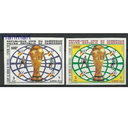 Znaczek Kamerun 1982 Mi 993-994B Czyste **