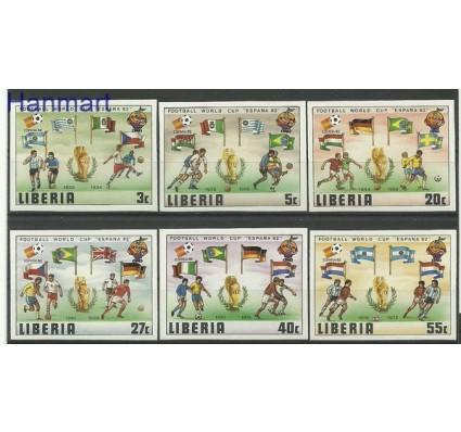 Liberia 1981 Mi 1187-1192B Czyste **