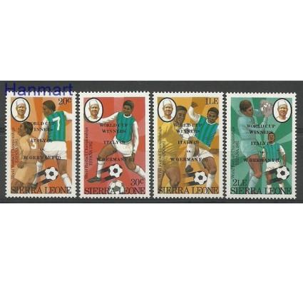 Sierra Leone 1982 Mi 688-691 Czyste **