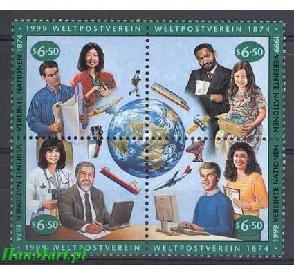 Narody Zjednoczone Wiedeń 1999 Mi 294-297 Czyste **