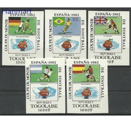 Togo 1981 Mi 1542-1546B Czyste **