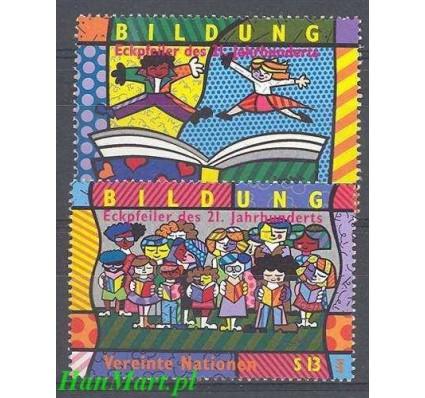 Narody Zjednoczone Wiedeń 1999 Mi 300-301 Czyste **