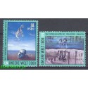 Narody Zjednoczone Wiedeń 2000 Mi 307-308 Czyste **