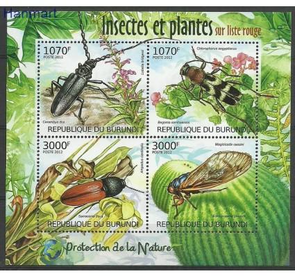 Znaczek Burundi 2012 Mi ark2535-2538 Czyste **